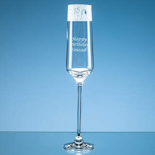 190ml 18 Frieze Design Champagne Flute