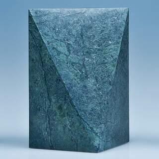 17.5cm Green Marble Glacier Award