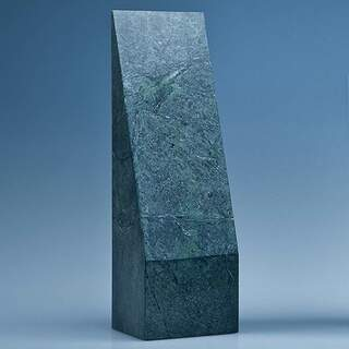 25cm Green Marble Slope Award