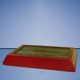 4.5cm x 7.5cm Recess Wood Base