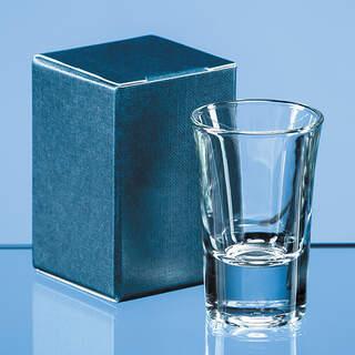 Blue Tot Glass Skillet Box